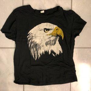 Bald Eagle Baby Tee